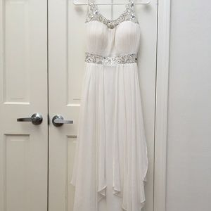 SEQUINED PROM DRESS